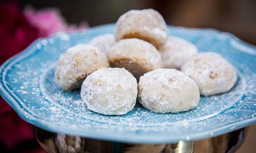 Home & Family - Recipes - Mary Salafias Butterball Cookie Recipe | Hallmark Channel