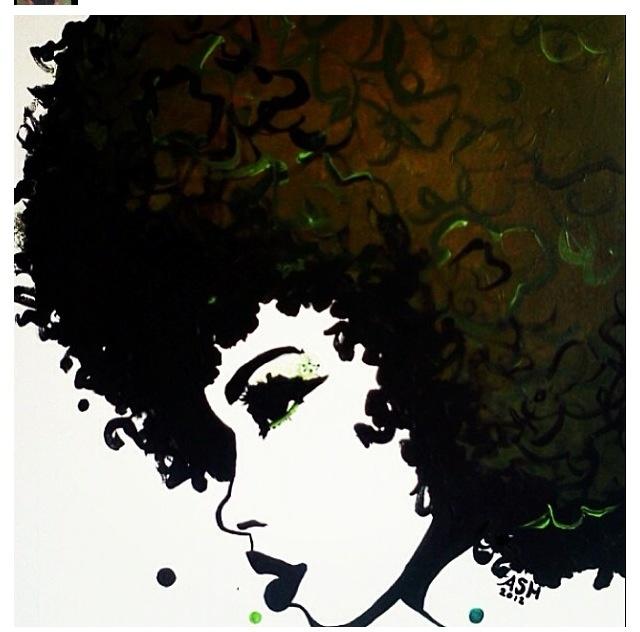 Black artBlack Women Afro Art