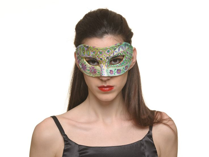 http://www.miofidelio.com/sito/en__p__45__variety_.html Variety A mask for all those occasions in which you want to create an aura of mystery around you, for an exciting role-playing game, themed and private parties, spicy meetings.  The masks designed for miop Fidelio are made of papier mâché ??with the traditional technique of negative plaster mold.
