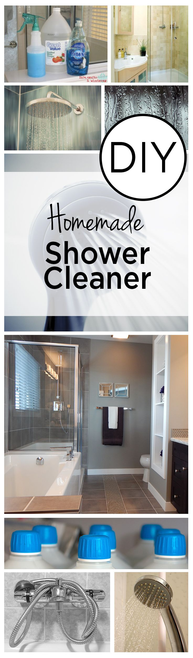 1000 Ideas About Homemade Shower Cleaner On Pinterest
