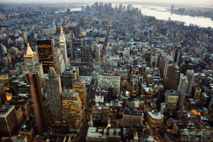 Fotos von New York City mit herrlicher Aussicht auf den glamourösen Straßen von Manhattan.