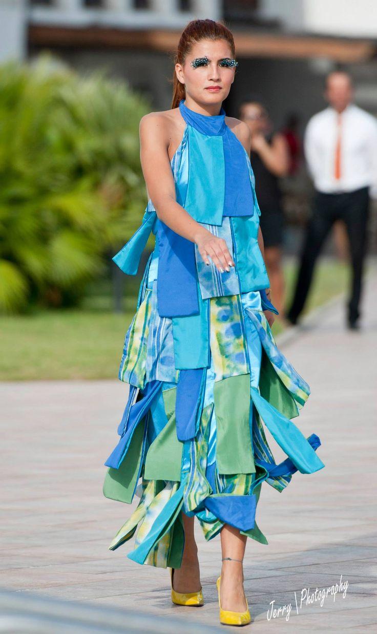 Katleen Amazonas Fashion Show in Italy