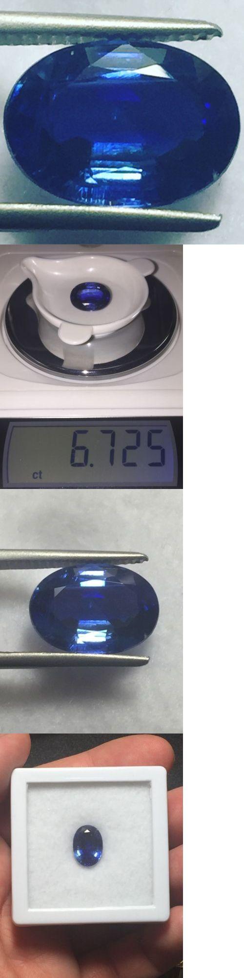 Kyanite 110799: Natural 6.72 Carat Blue Kyanite Genuine Loose Gemstone Oval -> BUY IT NOW ONLY: $275 on eBay!