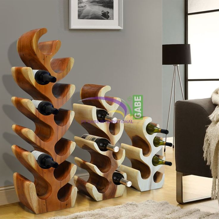 Product Code: HD70649 Product Description #Winerack that is quite where the main ingredients of making this rack made of #solidwood in shape to be able to adjust into a wine rack.  This rack can also be placed in your #personalspace. For those of  dinghy the wine is perfect to have it, we have 3 sizes for this wine rack :  Big Size: W27 cm, D 20 cm, H 95 cm  Medium Size: W28 cm, D 20 cm, H 70 cm  Small size : W30 cm, D 20 cm, H 50 cm #picoftoday #interior #furniture #indonesiafurniture…