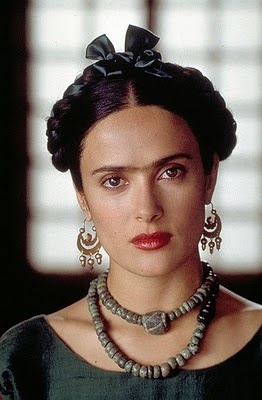 Salma Hayek as Frida, 2002.