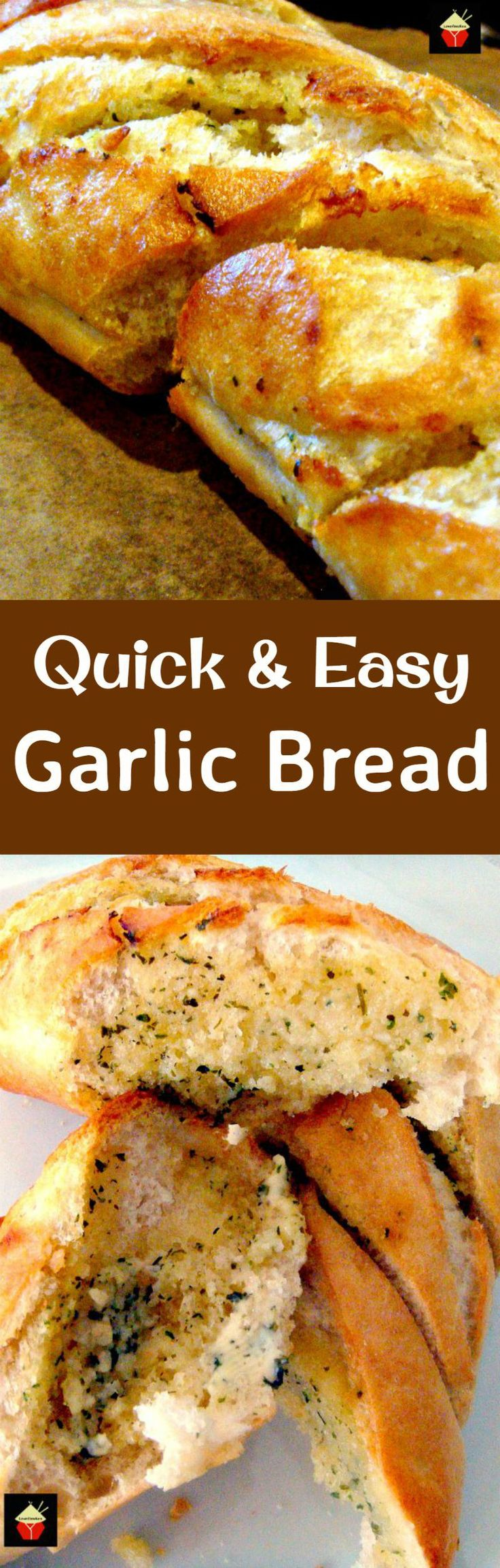 Quick and Easy Garlic Bread. This is a really fuss free recipe, and ...