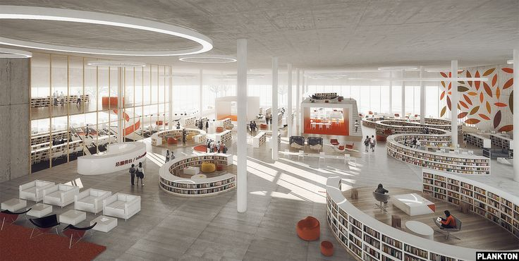 Plankton Group - Ningbo Library for SHL http://planktongroup.com
