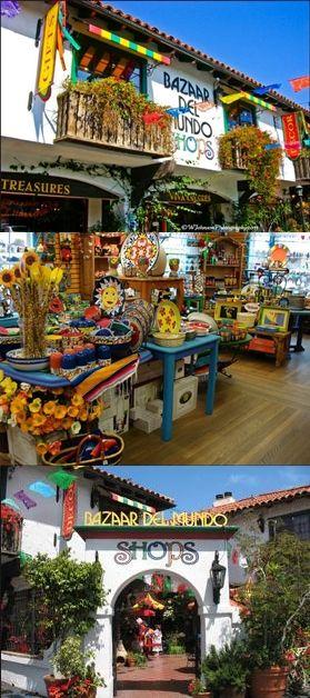 Bazaar del Mundo in Old Town - San Diego, Ca