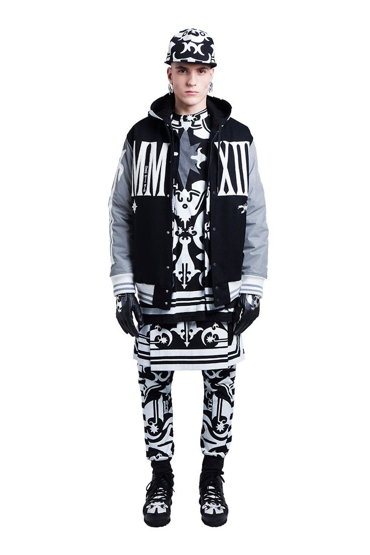 Fucking Young. KTZ. Fall Winter 2013. Lookbook. Black & White. Print. Brand. Typography. New. Fresh. Youth. Street Style. Fashion. Men. Core. Rough. Pattern. Layers. +1