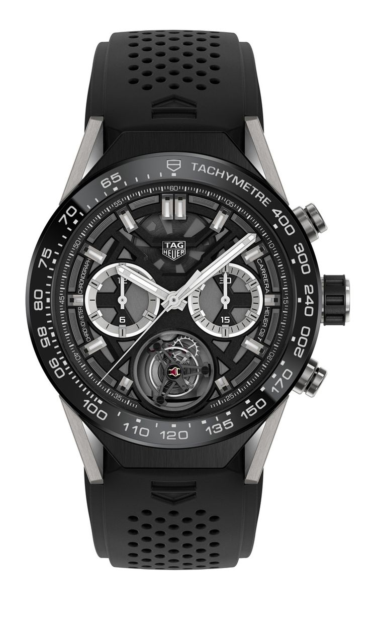 TimeZone : Industry News » N E W M o d e l - TAG Heuer Connected Modular 45 Collection