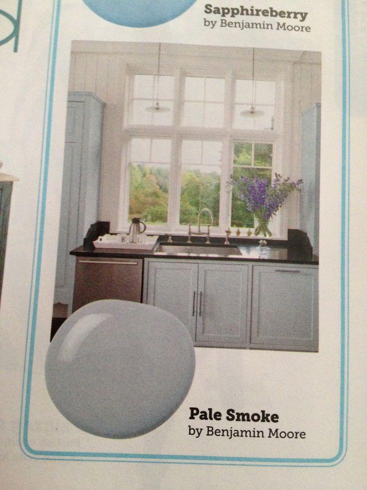 benjamin moore pale smoke paint pinterest. Black Bedroom Furniture Sets. Home Design Ideas