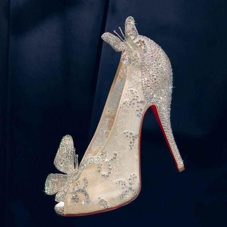 Christian Louboutin Disney Cinderella shoes
