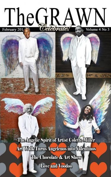 The spirit of the GLOBAL ANGEL WINGS PROJECT by Colette Miller has captivated people in Los Angeles and around the world. She paints wings on city walls... and people interact with their wings. Link goes to index page on her site.