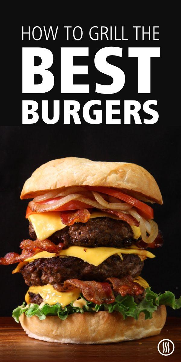 Grilling Hamburgers: A Temperature Guide | Hamburgers grilled, Hamburger, Hamburger  temperature