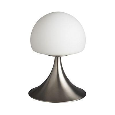 Lampe à poser sensitive forme champignon H21cm