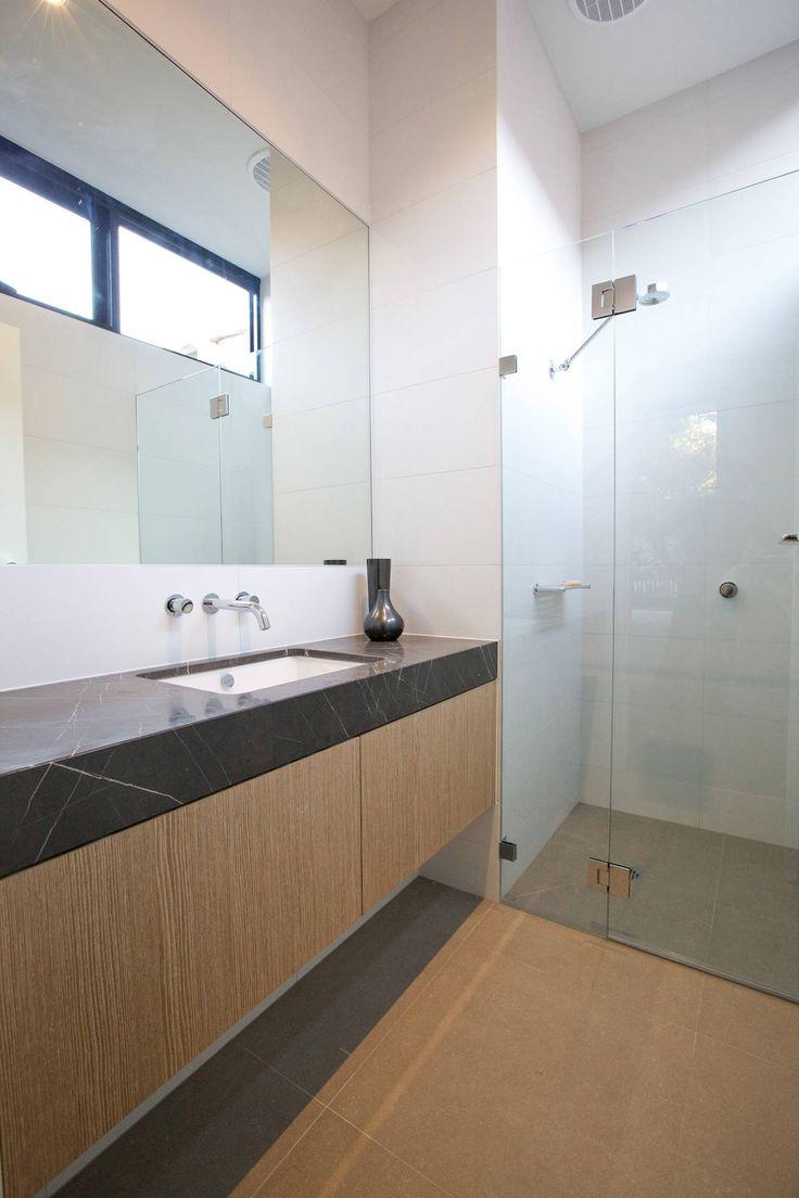 Contemporary condo bath modern bathroom chicago by jill jordan - Gallery Of New House At Milton St Elwood Victoria Jost Architects 5