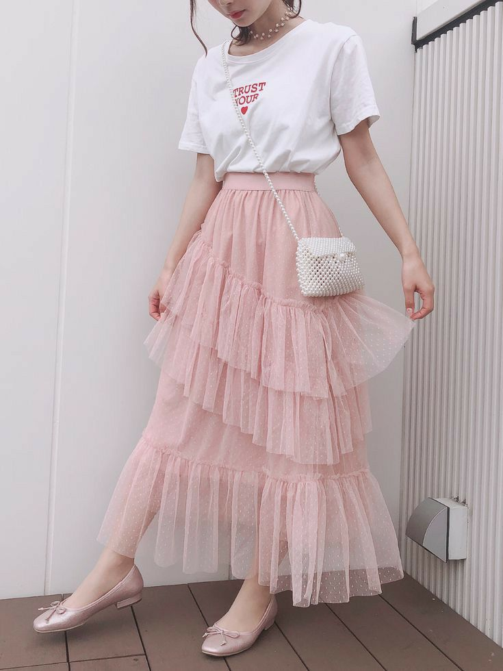 l e l i a l a r t cute skirt outfits korean girl fashion pink outfits
