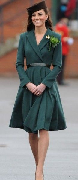 Kate Middleton's style: Irish coat-dress designed by Emilia Wickstead