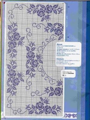nice pattern for filet crochet