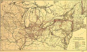 New York Central Railroad - Wikipedia