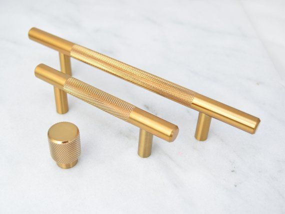2 5 Option For Kitchen Cabs Gold Drawer Pulls Brass Drawer
