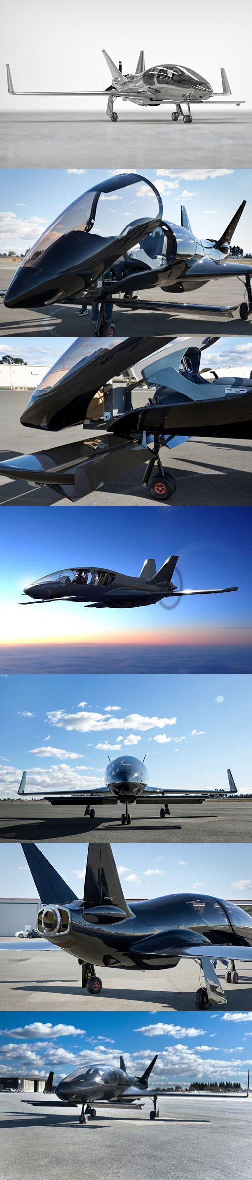 Cobalt Co50-Valkyrie // The Co50 Valkyrie | Cobalt www.cobalt-aircraft.com/co50-valkyrie/ The Valkyrie is one of the fastest piston aircraft on the market, and is designed to be the safest. Inspired by classic fighter jets with clean lines and.                                                                                                                                                      More