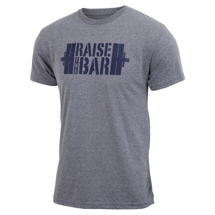 Raise the Bar - Gray - Men's Triblend T-shirt