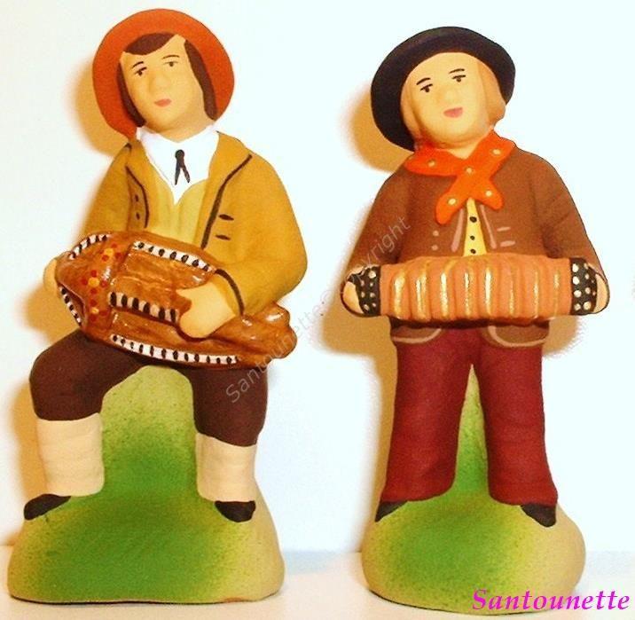 Le joueur de vieille et de bandonéon