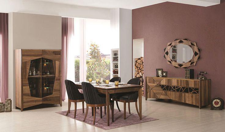 KRAL AHŞAP YEMEK ODASI her çizgisinde ve detayında mükemmelliğin  dokunuşunu bulabileceğiniz çok özel ürün  http://www.yildizmobilya.com.tr/kral-ahsap-yemek-odasi-pmu4308 #mobilya #home #kadın #dekorasyon #avangarde #populer #bedroom #trend http://www.yildizmobilya.com.tr/