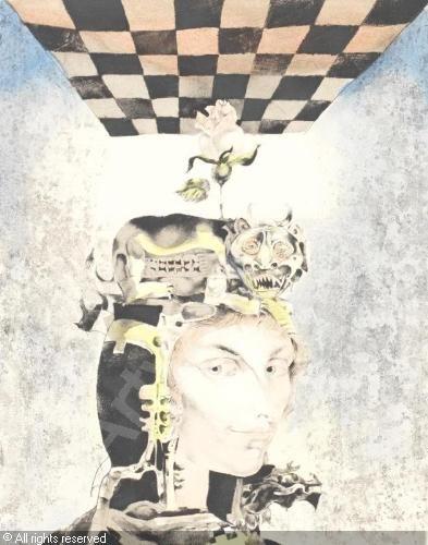 SZASZ Endre - The Sorceress. Checkmate
