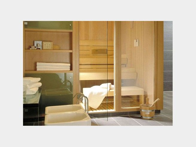 63 best Inspiration Badezimmer images on Pinterest Bathroom - sauna im badezimmer