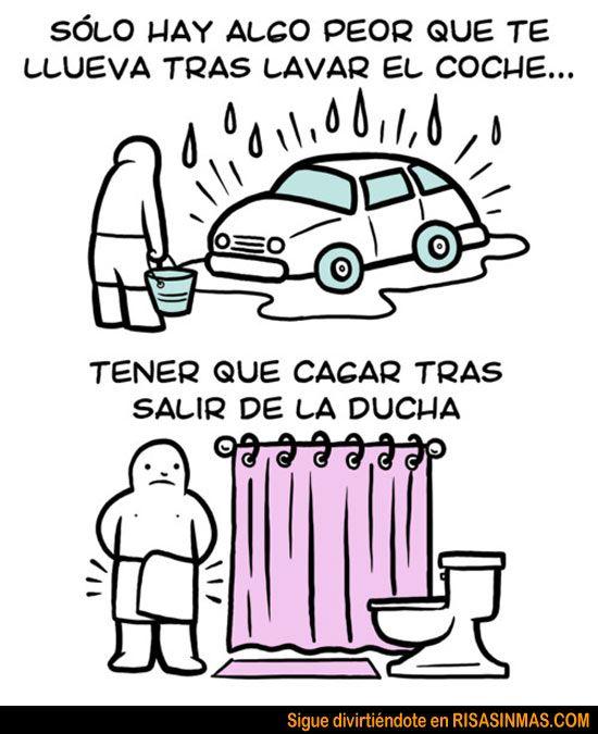 Algo peor que la lluvia después de lavar coche | Risa Sin Más