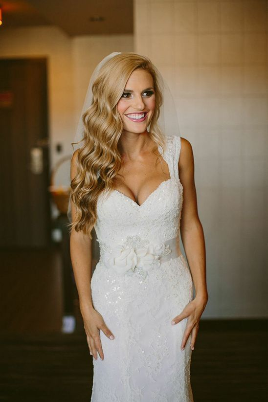 wedding hair down