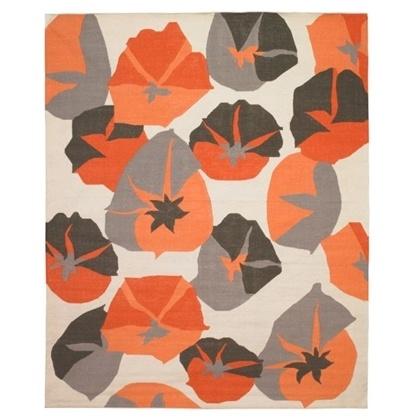 poppy rug: Big Floral, Studio Rug, Living Room, Persimmon Rug, Floral Persimmon, Rugs, Dwellstudio