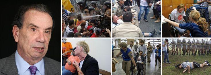 Aloysio,vice de Aecio Neves,  justifica massacre: PM cumpriu o seu papel :