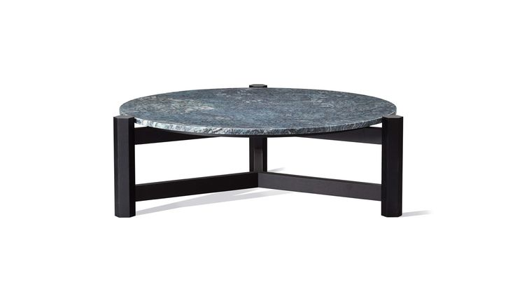 Tribute Round Marble Coffee Table