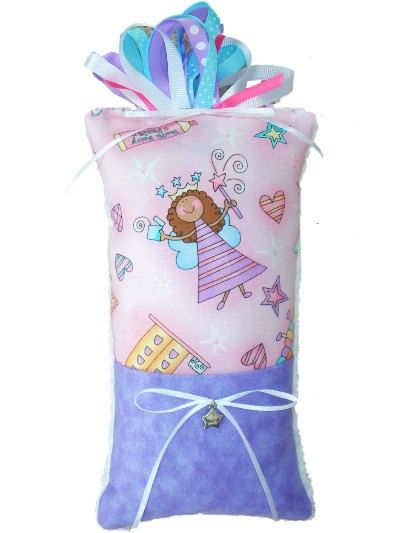 Megan Tooth Fairy Pillow for girls keepsake by SewoutoftheOrdinary, $15.95