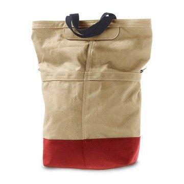 The Sac (waxed canvas bag) by Linus Bike