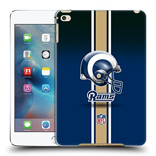 Official NFL Helmet Los Angeles Rams Logo Hard Back Case for Apple iPad mini 4  https://allstarsportsfan.com/product/official-nfl-helmet-los-angeles-rams-logo-hard-back-case-for-apple-ipad-mini-4/  Official NFL product Stylish, scratch resistant, high resolution printed graphics Hard-Shell Polycarbonate Material protects from scratches, drops, and dust