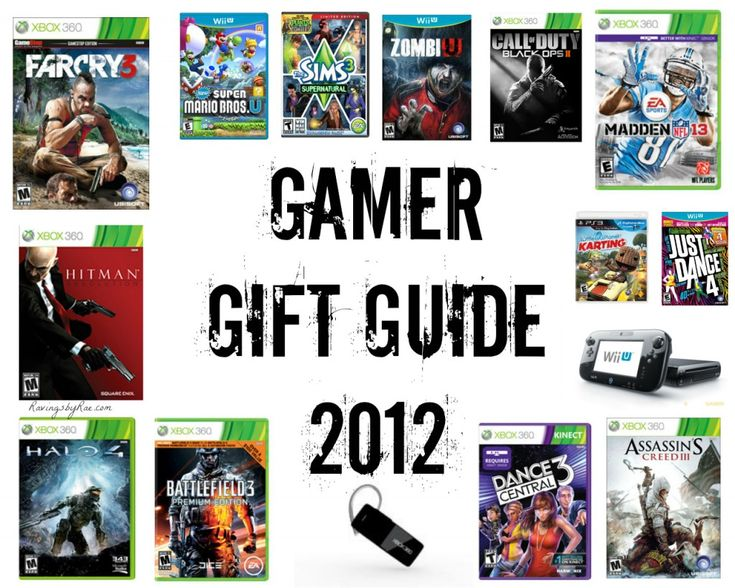 Christmas Gift Ideas Guy Friends Part - 33: Need To Get Your Brother, Boyfriend, Husband, Or Guy Friend A Christmas Gift?  Check Out This Gamer Gift Guide 2012... With All The Hottest Gamer Lou2026
