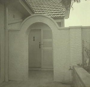 Everglades Leura 1933 - 1943, part of the house just after construction