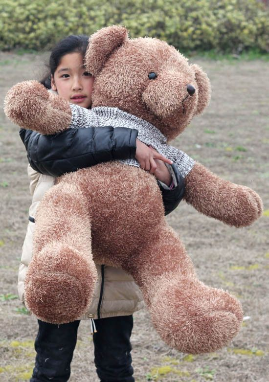 big lovely plush teddy bear toy new sweater teddy bear doll hugging bear toy gift about 110cm //Price: $US $56.69 & FREE Shipping //     #toyz24