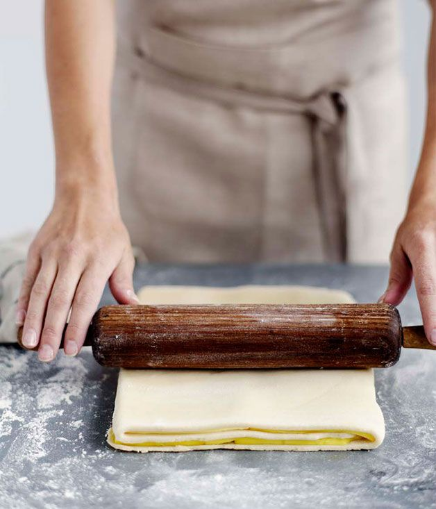 Australian Gourmet Traveller recipe for puff pastry All you really need to master fabulously flaky pâte feuilletée, or what we like to call puff pastry, is flour, butter and plenty of time and patience.  #Pastry #Winter #French #Masterclass #Baking