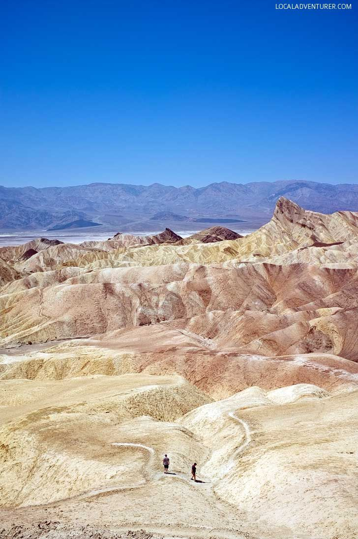 Zabriskie Point (9 Incredible Things to Do in Death Valley National Park California USA) // localadventurer.com