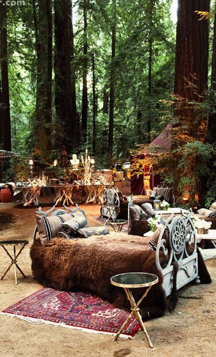 10 Insane Facts About Sean Parker's Enchanted Forest Wedding - The Knot Blog