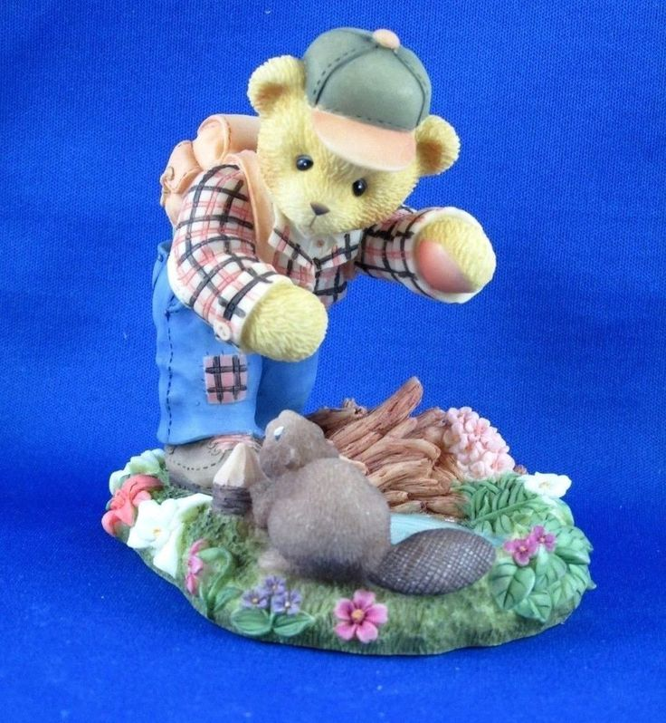 Cherished Teddies Cameron International Canadian Exclusive Figurine NIB  a
