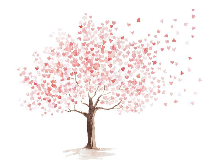 Leaning Cherry Blossom Google Search Blossom Cherry Cherryblossom Google Leanin Cherry Blossom Watercolor Tree Watercolor Painting Blossom Tree Tattoo