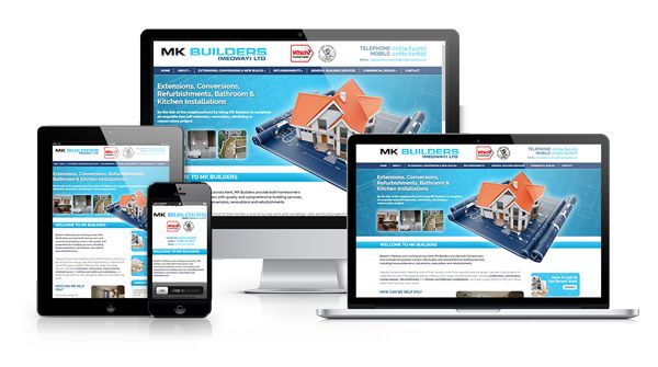 A branding update, responsive website and ongoing SEO for MK Builders
