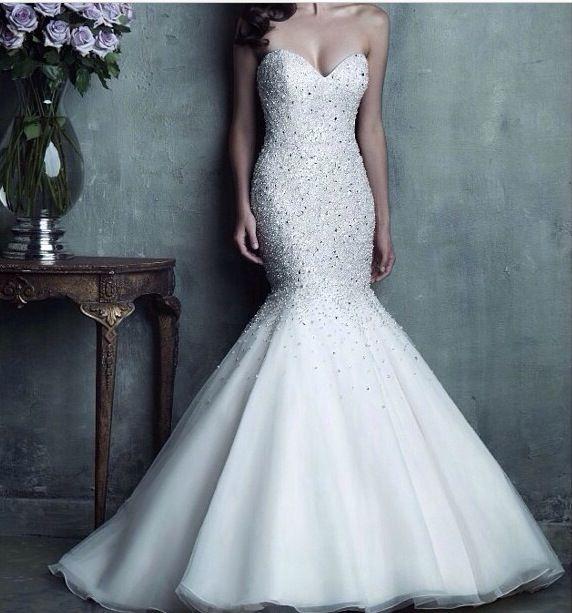25  best ideas about Fishtail wedding dresses on Pinterest | Lace ...