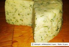 Házi sajt túróból